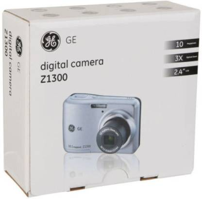 GE Z1300 10.1 Megapixels Point & Shoot Camera