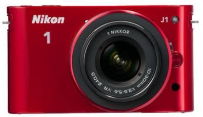 NIKON 1 J1 Body with 10-30 mm Lens Mirrorless Camera