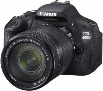 Canon EOS 600D (Body with EF-S 18-135 mm IS II Lens) DSLR Camera (Body only)