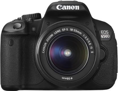 Canon EOS 650D DSLR Camera