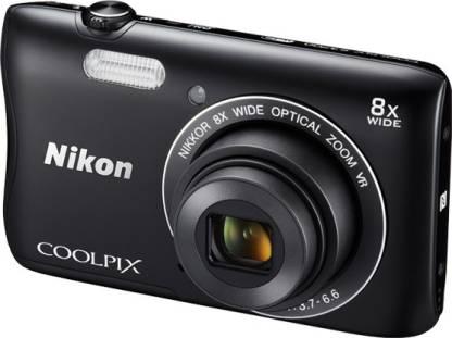 NIKON S3700 Point & Shoot Camera
