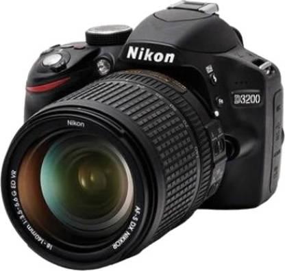 NIKON D3200 (Body with AF-S 18-140 mm VR Kit Lens) DSLR Camera