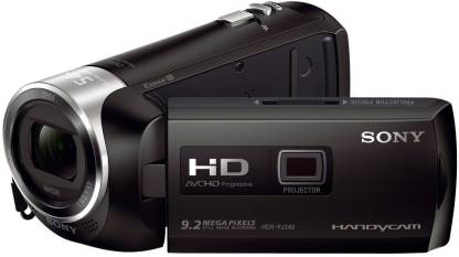 SONY HDR-PJ240E/B with Projector Full HD Camcorder Camera