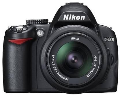 NIKON D3000 DSLR Camera (Body only)