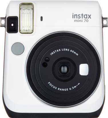 Fujifilm Instax Mini 70 Instant Camera (White)