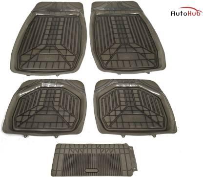 Auto Hub Plastic, Rubber Standard Mat For  Toyota Fortuner