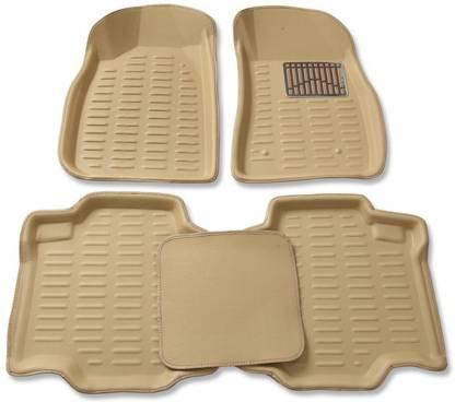 Fieesta PVC (Polyvinyl Chloride), Polyester, Microfibre, Rubber 3D Mat For  Maruti Suzuki Swift Dzire