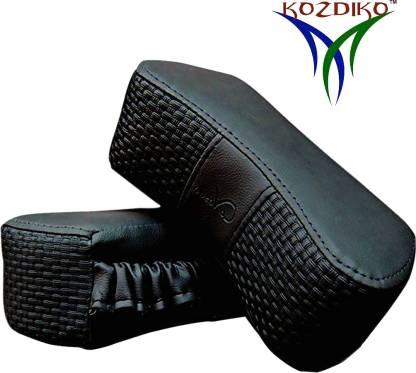 KOZDIKO Black Leatherite Car Pillow Cushion for Maruti Suzuki