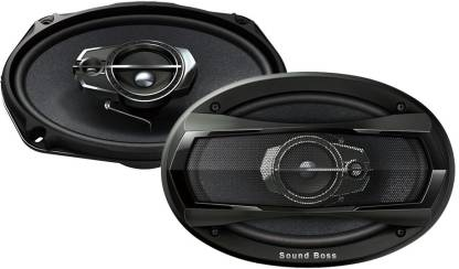 "Sound Boss SB-6979 6""X9"" 3Way Performance Auditor 480W MAX 6979 Coaxial Car Speaker"