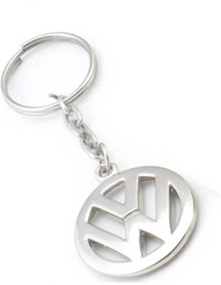 Asian Plastics Volkswagon Logo Metal Key Chain