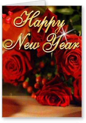 Lolprint New Year Greeting Card