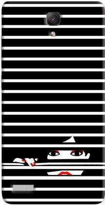 FABTODAY Back Cover for Mi Redmi Note 4G
