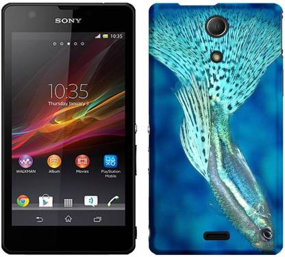 wow Back Cover for Sony Xperia ZR