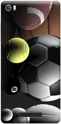 QBIC Back Cover for Lava Iris X8