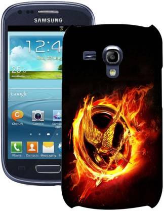 Pickpattern Back Cover for Samsung I8200 Galaxy S III mini