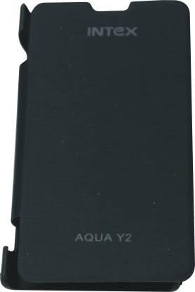 Evergreen Flip Cover for Intex Aqua Y2