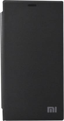 Coverage Flip Cover for Mi 3 Black