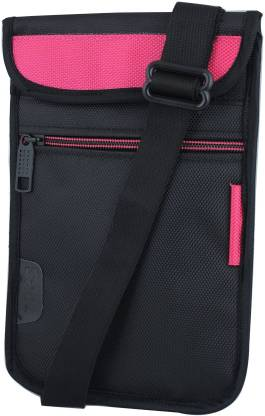 Saco Pouch for Tablet BSNL Penta WS707c? Bag Sleeve Sleeve Cover (Pink)