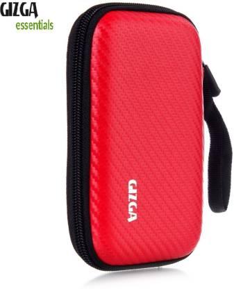 "Gizga Essentials Pouch for 2.5"" Hard Drive - Carbon Fiber Mesh"