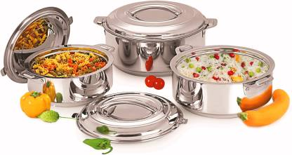 MMI Pack of 3 Cook and Serve Casserole Set