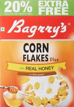 Bagrry's CORNFLAKE PLUS REAL HONEY 300g