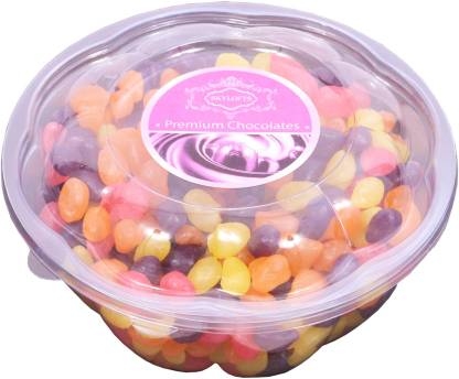 Skylofts Khatta Meetha Jelly Beans Assorted Chocolate Bars