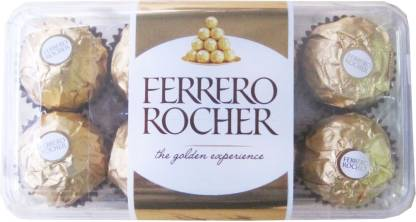 FERRERO ROCHER 16 Pcs Chocolate Truffles