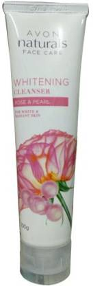 AVON Naturals Rose & Pearl Whitening Cleanser