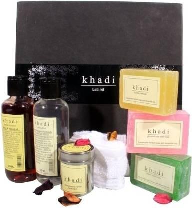 KHADI NATURAL Bath Kit