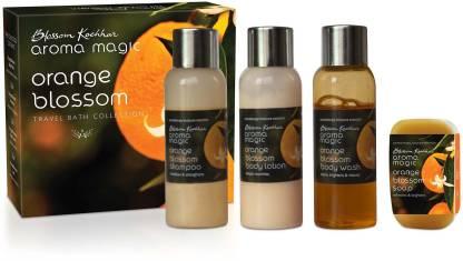 Aroma Magic Orange Blossom Travel Bath Collection