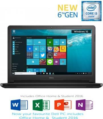 Dell Core i3 6th Gen    4   GB/1 TB HDD/Windows 10 Home  5559 Laptop
