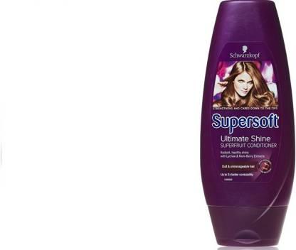 Schwarzkopf Supersoft Ultimate Shine Silicone Free Superfruit