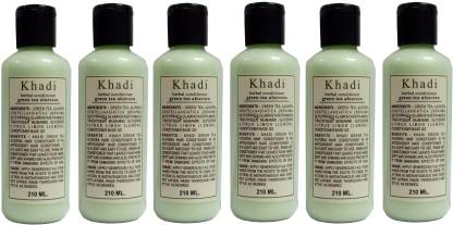 Khadi Herbal Green Tea Aloe Vera Hair Conditioner