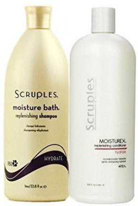 Scruples Moisture Bath Shampoo & Moisturex Conditioner (33.8oz)
