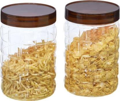 Steelo Steelo 2000ml x 2 pcs PET Container Set (Solitaire)  - 2000 ml Plastic Grocery Container