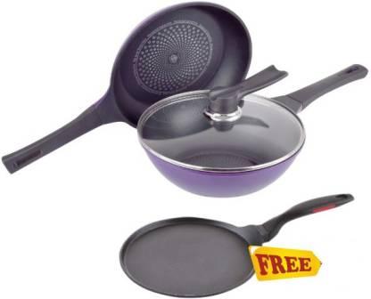 WONDERCHEF Induction Diamond Induction Bottom Cookware Set