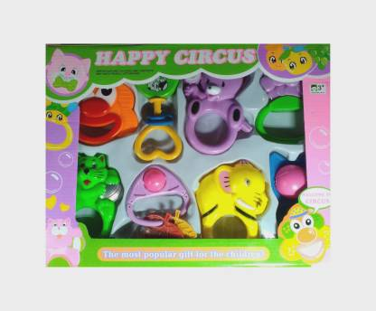SJB Happy Circus Rattle