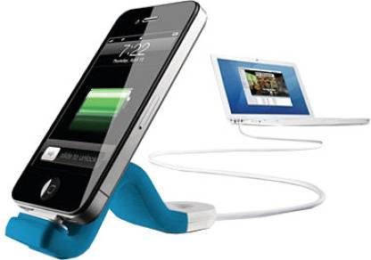 Philips DLC2407BLU/17 Sync and Charge Cable with FlexAdapt Stand