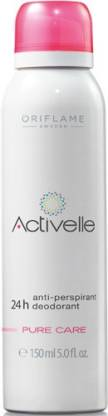 Oriflame Sweden Activelle Anti-perspirant 24h DeoPure Care Deodorant Roll-on  -  For Women