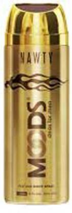 MOODS Nawty Deo Deodorant Spray  -  For Men