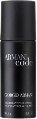 GIORGIO ARMANI Code Deodorant Spray  -  For Men