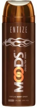 MOODS Entize Deodorant Deodorant Spray  -  For Men