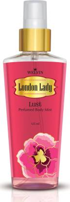 Welvin London Lady Lust Body Mist  -  For Women