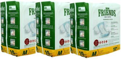 FRIENDS Easy Adult Diapers - M