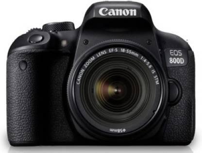 Canon EOS 800D DSLR Camera  Body Only   16  GB SD Card + Camera Bag  Black  Canon DSLR   Mirrorless