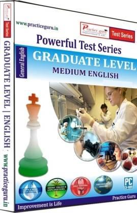 Practice guru Powerful Test Series - Graduate Level Medium English