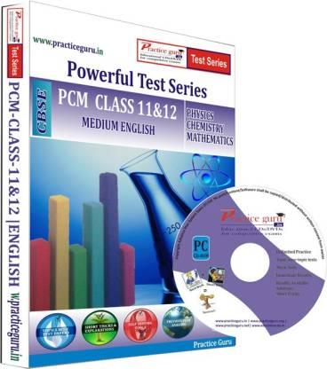 Practice guru PCM Combo Pack Class 11 & 12 Test Series