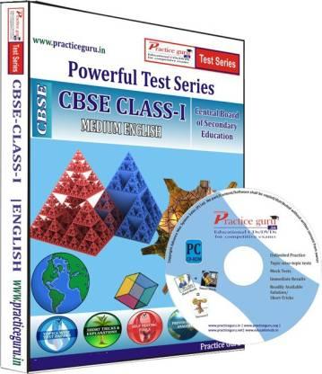 Practice guru Class 1 - Maths, EVS & English Combo Test Series