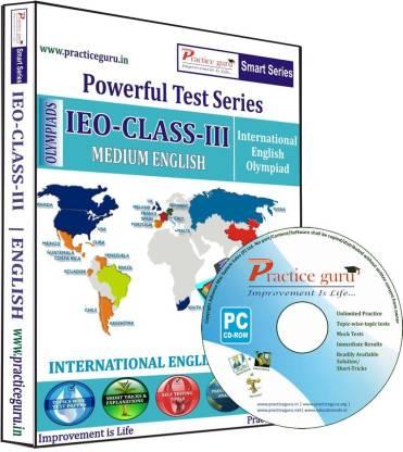 Practice guru Powerful Test Series IEO Medium English (Class - 3)