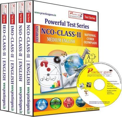 Practice guru Class 2 - Combo Pack (IMO / NSO / IEO / NCO) Test Series